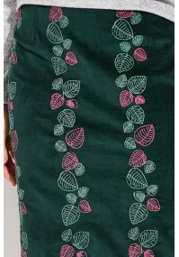 Simple Skirt with leaves