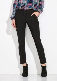 Proste czarne Spodnie