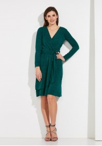 Green Dress with binding