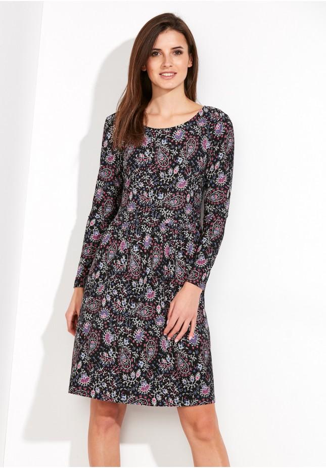 df62e17c Sukienka 1808 (różowe wzorki)