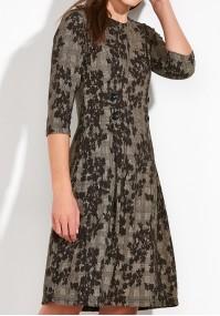 Taliowana Sukienka z guzikami