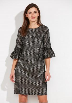 Koronkowa prosta Sukienka