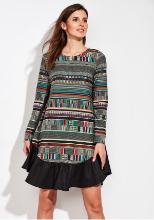 Colorful oversize Dress