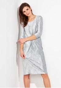 Velor Ribbed Dress