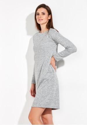 Warm grey Dress