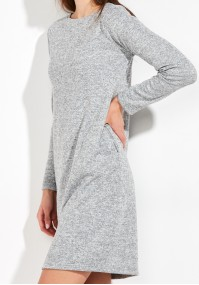 Warm grey Dress