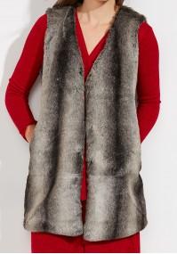 Warm gray Vest