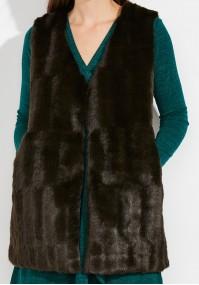Warm brown Vest
