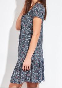 Floral Dress with neckline