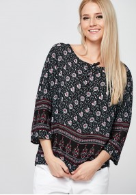 Black hippy Blouse
