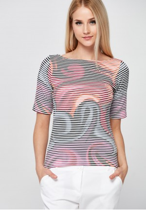 Colorful striped Blouse