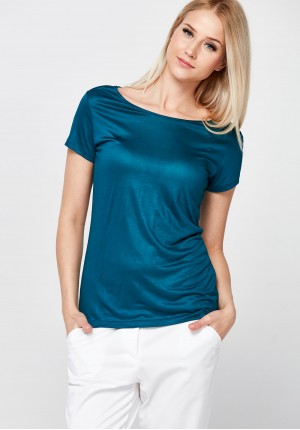 Classic turquoise Blouse