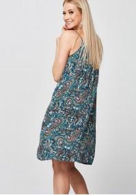 Wzorzysta plażowa Sukienka