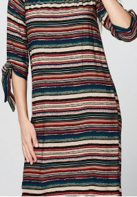 Summer Dress with tied sleeves