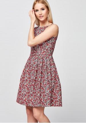 Elegant Dress with little flower