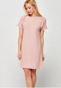 Klasyczna jasnoróżowa Sukienka