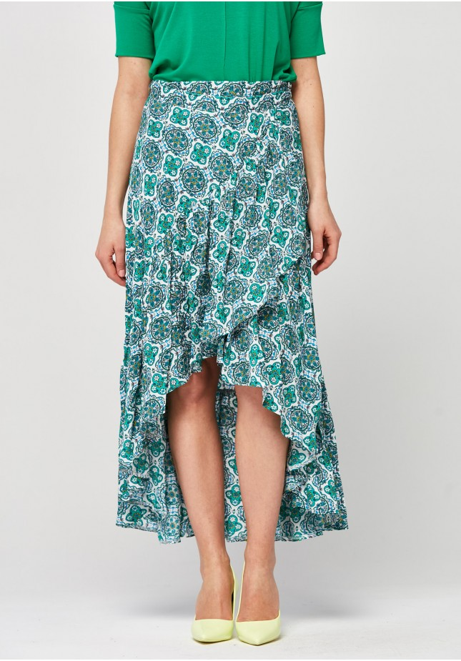 Airy Skirt with binding