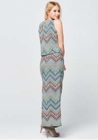 Maxi colorful dress
