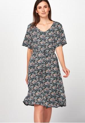 0245120ee4 Zwiewna Sukienka łączka