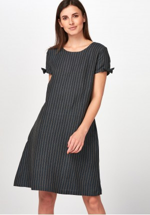 Elegant striped Dress