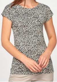 Fitted Blouse with speckles