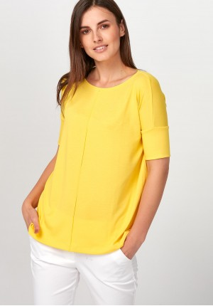 Knitwear light yellow Blouse