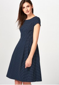Elegancka Sukienka w kropeczki