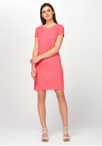 Pink simple Dress