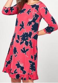 Pink trapezoidal Dress