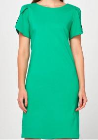 Zielona elegancka Sukienka