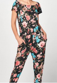 Jumpsuit with flowers