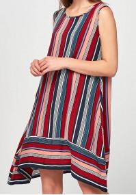 Airy striped Dress