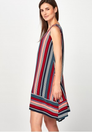 Airy striped Dress