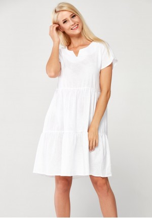 Sukienka 1371 (biała)