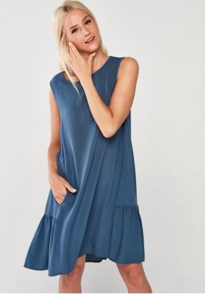 Sukienka 1099 (błękitna)