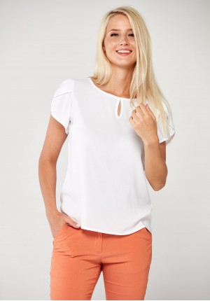 White viscose Blouse
