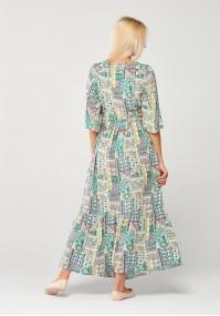 Celadon maxi dress