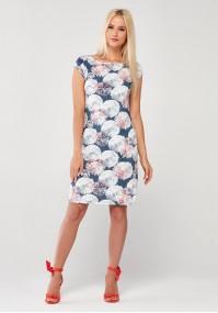 Denimowa Sukienka w dmuchawce