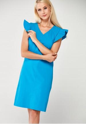 Sukienka 1706 (niebieska)