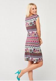 Multicolor simple Dress