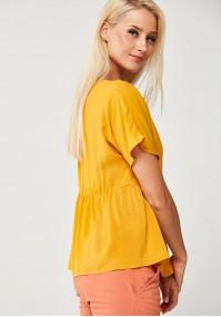 Yellow Viscose Blouse