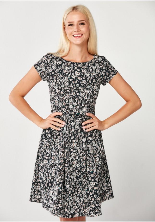 Elegancka Sukienka w rumianki