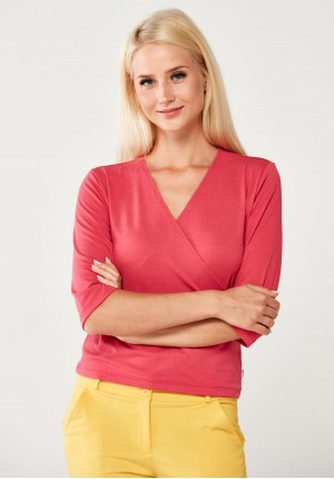 Pink envelope Sweater
