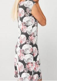 Gray Dress in a dandelion