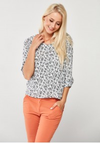 Viscose Blouse with flowers
