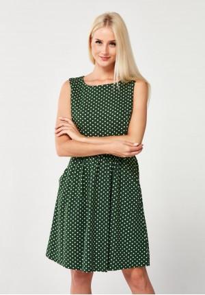 Sukienka 1355 (zielona)