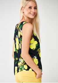 Blouse with lemons