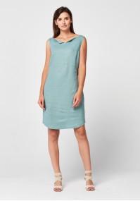 Celadon linien dress
