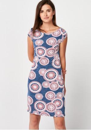Sukienka z półrękawkiem