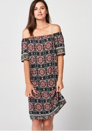 Krótka luźna sukienka